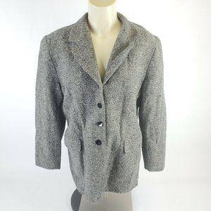 VTG Pendleton Gray 98% Wool Blazer Suit Coat
